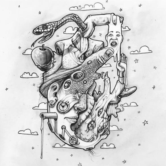 Surrealistic Drawing
